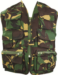 Kids Unlined Camo Vest