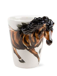 Brown Horse Coffee Mug