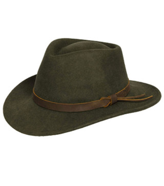 Felt Crushable Hat