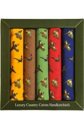 Pheasant Handkerchiefs
