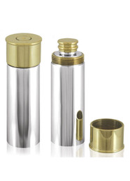Gun Cartridge Hip Flask