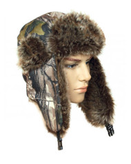 Forest Camo Trapper Hat