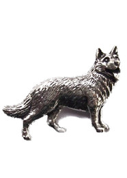 German Shepherd Pewter Pin