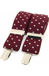 X Style Polka dot Novelty Braces