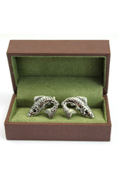 Soprano Trout Fish Cufflinks
