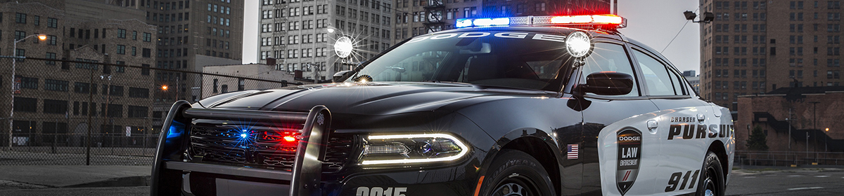 Charger Police Car 2015 2018 Lights Emergency Equipment