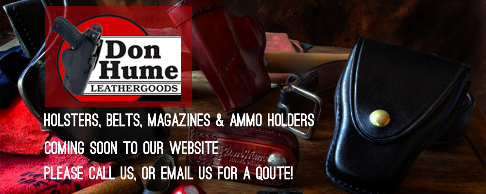 don hume leathergoods holsters belts magazines ammo holders