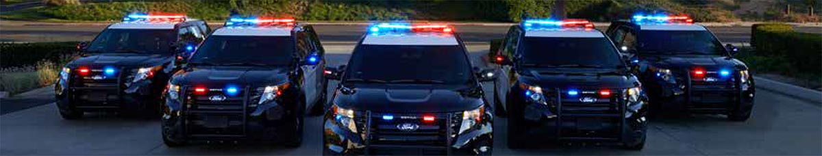 Federal Signal Police and Emergency Vehicle LED Lights