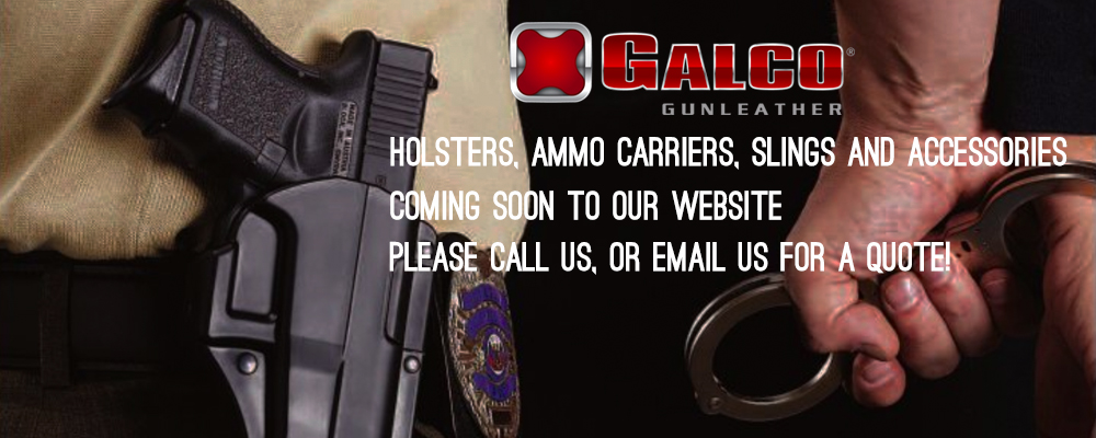 Galco holsters carriers slings police military