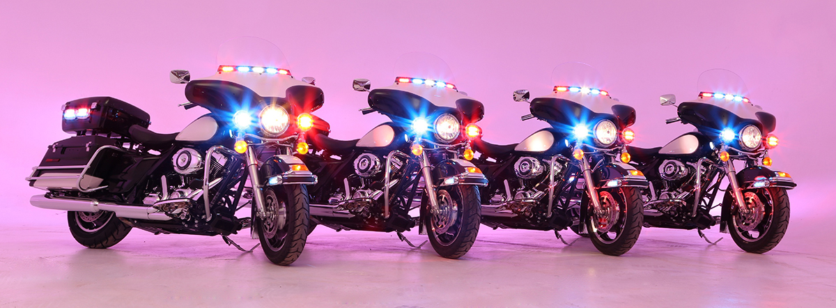 Harley Davidson Police Motorcycle Lights Shelly Lighting