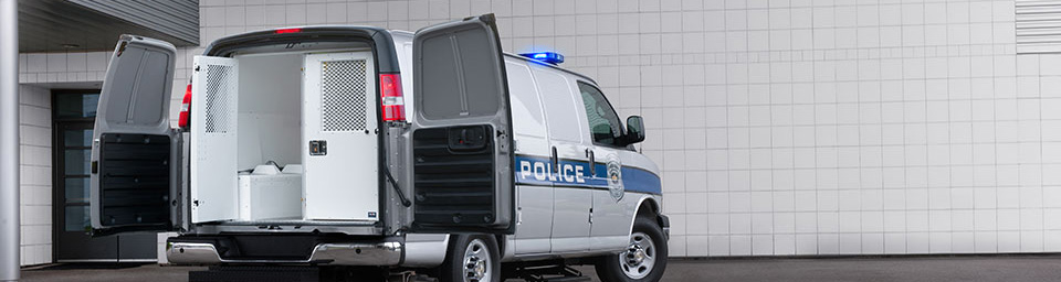 van emergency lights sirens equipment for police and fire
