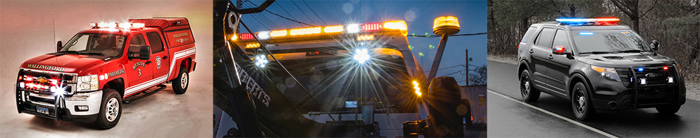 Police fire ems light bars led whelen federal signal soundoff light bars aloadofball Gallery