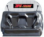 Police SUV Rear Prisoner Transport Seat and Cargo Barrier by Laguna