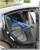 ProGard Police Interceptor Sedan Prisoner Transport Rear Plastic Seat, 2013-2019