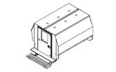"""Havis Chevy Express G-Series Van 8 Prisoner Transport 80"""" Insert Kit 2007-2019"""