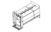 "Havis Dodge Ram ProMaster Van 10 Prisoner Transport 2 Compartment 120"" Insert Kit 2014-2019"