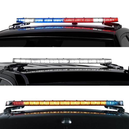 Federal signal integrity led light bar dual color - Federal signal interior lightbar ...