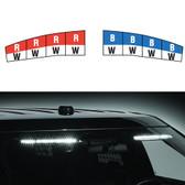 Federal Signal Ford Taurus Police Interceptor Sedan 2013-2019 Interior Light Bar Spectralux ILS Dual Color Low Profile