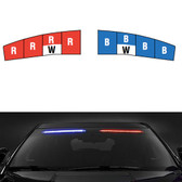 Federal Signal Ford SUV Police Interceptor Utility (Explorer) Interior Light Bar Spectralux ILS Low Profile, 2013-2019