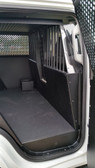 American Aluminum Chevy Tahoe SUV EZ Rider K9 Police Vehicle Dog Kennel Transport Insert System and Cargo Containment Unit, Black or Aluminum Finish