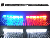 Raptor LED Interior Light Bar for Emergency Vehicles by STL, Adjustable Universal Mount, includes full flood feature