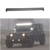 Off Road LED Light Bar by STL, Dual Carbine 50 inch Curved Flood-light