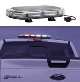 Emergency Vehicle LED Mini Light Bar by STL, K-Force Series, 18 or 27 inches, Polycarbonate Plastic and Aluminum Chassis