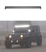 Off Road LED Light Bar by STL, Dual Carbine 50 inch Flood-light