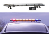 Emergency Vehicle LED Light Bar by STL, K-Force Series, 36 47 or 55 inch, Plastic and Aluminum Chassis, Linear or TIR LEDs