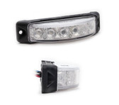 Emergency Vehicle 180 degree 6-LED Flush Surface Mount Light Head Z-180 by STL, 5 year warranty