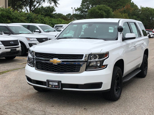 Coming Soon - New 2019 White Tahoe PPV Marked Patrol Ready for the Road Turnkey Police Package ...