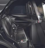 Setina Ford Interceptor SUV Utility (Explorer) 2013-2019 Police Prisoner Transport Rear Plastic Seat (OEM Replacement) includes Easy Access Seat Belt System for Officer Safety