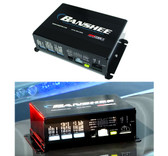 Code-3 Banshee® 3450 Siren Amplifier, Low Frequency, Dual Tone, includes Power Harness, 10 ft CAT5 cable, Input/Output Harness, optional speakers