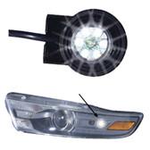Code-3 Twist Lock 6-Pack LED Hide-A-Blast Hideaway Corner Light Heads HB6PAK-PI-XX