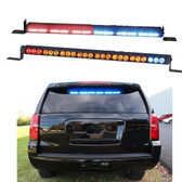 Code-3 Build-your-own CommandStik™, 6 MR6 lightheads; Select Rear Deck Mount or Top Rear Window Mount, Multicolor