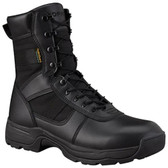 Propper Series 100® 8 inch Waterproof Side Zip Boot with zipper guard, Oil and Slip Resistant, Triple Stitch, Black, F4520