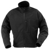 Propper Defender® Echo Softshell Tactical Jacket, Chest pen pocket, Zipper front with cord pull, Black F5474