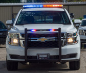 New 2019 4x4 White Tahoe PPV Marked Patrol with Red-Blue LEDs Ready for the Road Turnkey Pre-built Police Package,  includes Prisoner Transport Equipment, Free Delivery, 4WD, V8
