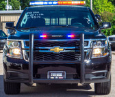 New 2019 Black Tahoe 4x4 PPV Marked Patrol Turnkey Police Package Ready for the Road pre-built with Red-Blue Federal Signal LED Lights and Equipment,  Free Delivery, 2WD 5.3 Liter V8