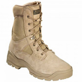 5.11 Tactical A.T.A.C.® 8 inch Side Zip Men's Boot, Oil and Slip Resistant, Coyote/Tan Brown 12110