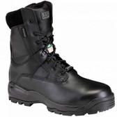 5.11 Tactical A.T.A.C.® 8 Inch Shield Side Zip Men's Boot, Oil and Slip Resistant, Waterproof, Black 12026