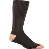 5.11 Tactical 3 Pack Cupron® Crew Men's Sock, Moisture-wicking polyester, Black 10039