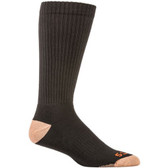 5.11 Tactical 3 Pack Cupron® OTC Men's Sock, Moisture-wicking polyester, Black 10038