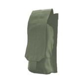 BLACKHAWK AK SINGLE MAG POUCH - MOLLE, Constructed of 500 denier nylon, Mounts to any S.T.R.I.K.E.® or PALS/MOLLE platform, available in Ranger Green and Urban Gray, BH-37CL185