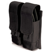 Blackhawk AK-47 Double Mag Pouch - USA Molle, available in Black, Coyote Tan, and Multi Cam 39CL88BK-USA