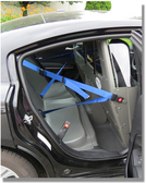 ProGard Dodge Charger Police Prisoner Transport Rear Plastic Seat