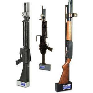 Single Weapon Vertical Gun Rack Lock By Tufloc Fleet Safety