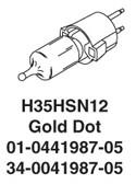 Whelen Replacement Halogen Bulb 35 Watt Snap In H35HSN12