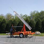 Solar-Powered Portable Tower Trailer by SolarTech