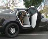 Caprice Police K9 Dog Kennel Transport Box by Havis 2011-Present